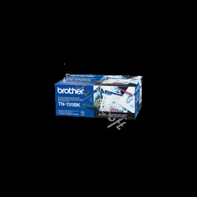 Brother Toner TN-135BK, Nagy töltetű - 5000 oldal, Fekete