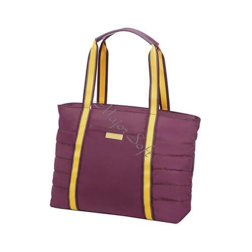 "AMERICAN TOURISTER Shopping táska 120345-4161, UPTOWN VIBES TOTE BAG 14.1"" PURPLE/YELLOW"