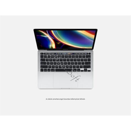 """Apple MacBook Pro 13"""" Touch Bar/QC i5 2.0GHz/16GB/512GB SSD/Intel Iris Plus Graphics w 128MB/Silver - HUN KB (2020)"""