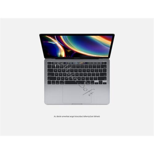"""Apple MacBook Pro 13"""" Touch Bar/QC i5 2.0GHz/16GB/512GB SSD/Intel Iris Plus Graphics w 128MB/Space Grey - HUN KB (2020)"""