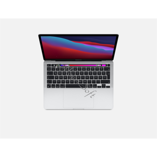 "Apple Macbook Pro 13.3"" M1 8C CPU/8C GPU/8GB/512GB - Silver - HUN KB (2020)"