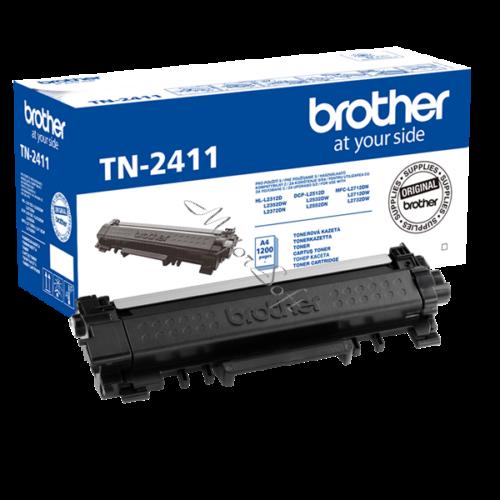 BROTHER Toner TN-2411, Standard - 1200 oldal (ISO/IEC 19752), Fekete