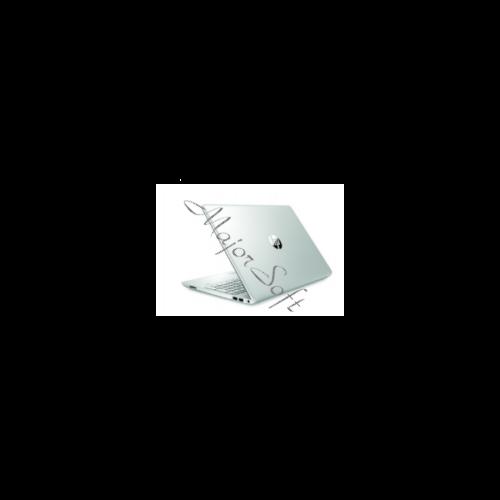 "HP 15-dw1006nh, 15.6"" FHD AG, Core i3-10110U, 8GB, 128GB SSD, 1TB, Win 10, ezüst"
