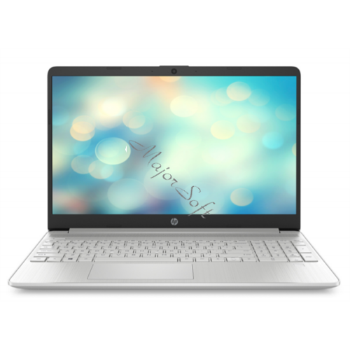 "HP 15s-fq1025nh, 15.6"" FHD AG, Core i3-1005G1, 4GB, 256GB SSD, Win 10, ezüst"