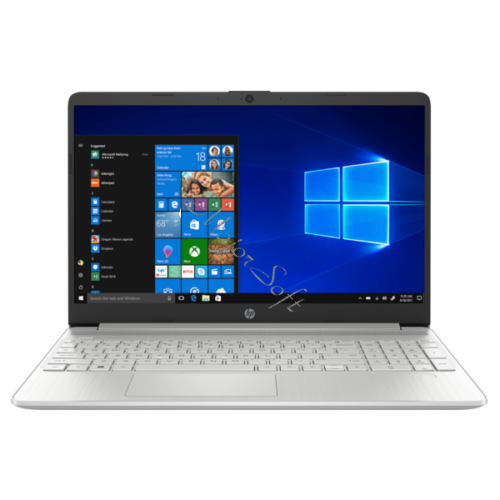"HP 15s-fq2022nh, 15.6"" FHD AG IPS, Core i3-1125G4, 4GB, 256GB SSD, Win 10, ezüst"
