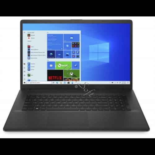 "HP 17-cn0006nh, 17.3"" FHD AG IPS, Celeron N4020, 4GB, 256GB SSD, Win 10, fekete"