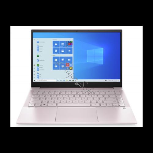 """HP Pavilion 14-dv0001nh, 14"""" FHD AG IPS, Core i3-1115G4, 4GB, 256GB SSD, Win 10, rózsaszín"""