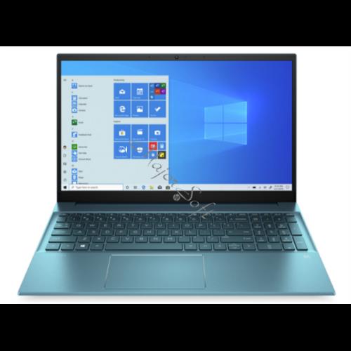 """HP Pavilion 15-eg0012nh, 15.6"""" FHD AG IPS 300cd, Core i5-1135G7, 8GB, 256GB SSD, Win 10, zöld"""