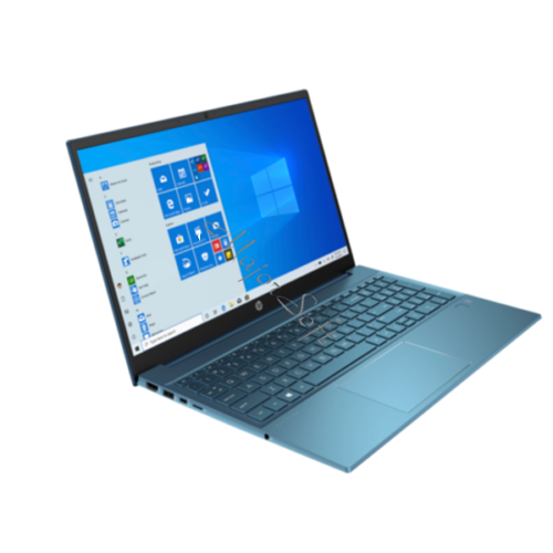 "HP Pavilion 15-eg0022nh, 15.6"" FHD AG IPS 300cd, Core i3-1125G4, 8GB, 256GB SSD, Win 10, kék"