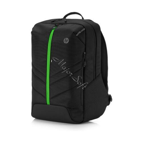 "HP Pavilion 500 Gaming Hátizsák 17"", fekete-zöld"
