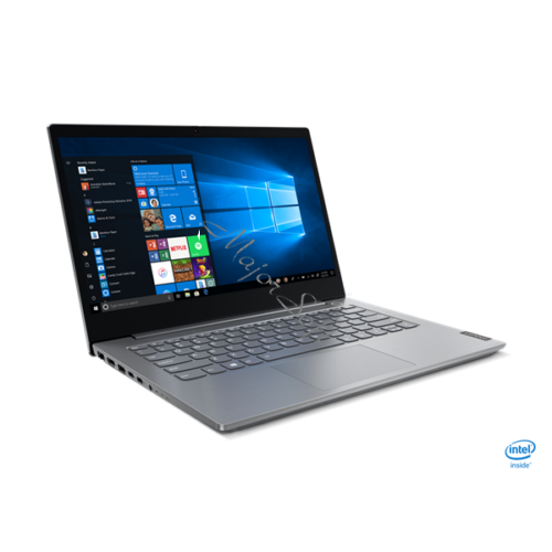"LENOVO ThinkBook 14-IIL, 14"" FHD, Intel Core i7-1065G7 (4C 3.90GHz), 16GB, 512GB SSD, No OS, Mineral Grey"
