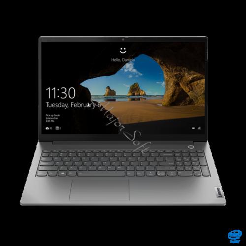 """LENOVO ThinkBook 15-2 ITL, 15,6"""" FHD, Intel Core i7-1165G7 (4C,2.8GHz), 16GB, 512GB SSD, NV MX 450 2GB, Win10, Min. Grey"""