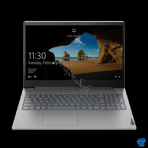 "LENOVO ThinkBook 15p IMH, 15,6"" UHD, Intel Core i5-10300H (4C, 2.5GHz), 16GB, 512GB SSD, NV GTX 1650TI 4GB, NOOS, Grey"