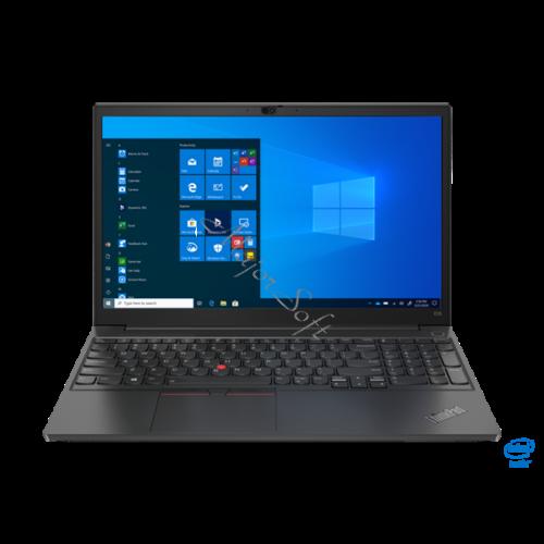 """LENOVO ThinkPad E15-2 ITU T, 15.6"""" FHD, Intel Core i5-1135G7 (4C/4.2GHz), 8GB, 256GB SSD, NoOS, Black"""