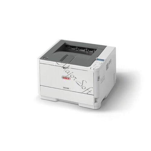 OKI Lézer LED nyomtató B432dn, fekete, 512MB, USB/Háló, A4 40lap/perc FF, 1200x1200 dpi, Duplex