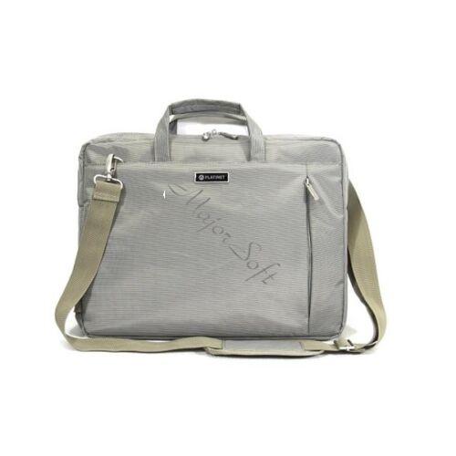 """PLATINET New York Collection 15,6"""" Laptop táska, szürke"""