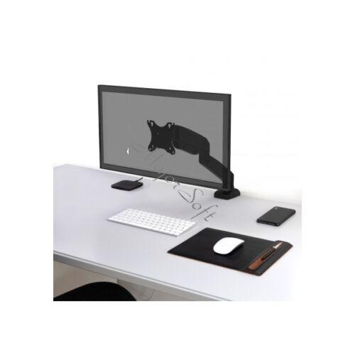 """Port Designs-Port Connect Asztali notebook állvány - 75x75/100x100, 32""""-ig, max 8 kg, forgatható, dönthető"""