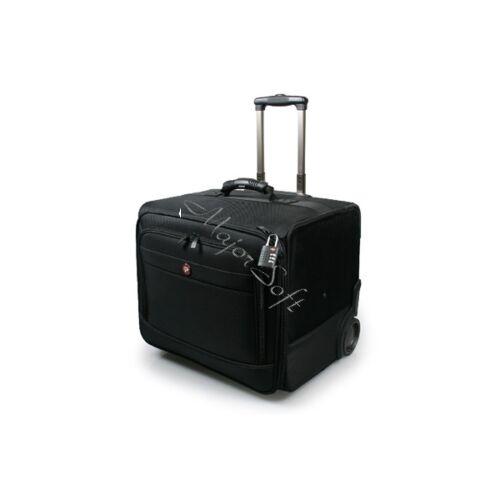 Port Designs gurulós táska, Bristol Trolley L - fekete