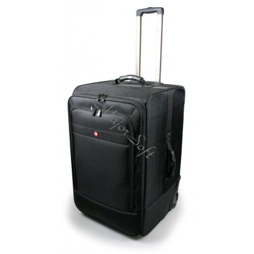 Port Designs gurulós táska, Bristol Trolley XL - fekete