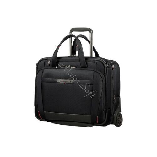 "SAMSONITE Gurulós Notebook táska 106363-1041, BUS. CASE/WH. 15.6"" EXP (BLACK) -PRO-DLX 5"