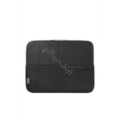 """SAMSONITE Notebook tok 46123-2642, LAPTOP SLEEVE 15.6"""" (BLACK/BLUE) -AIRGLOW SLEEVES"""