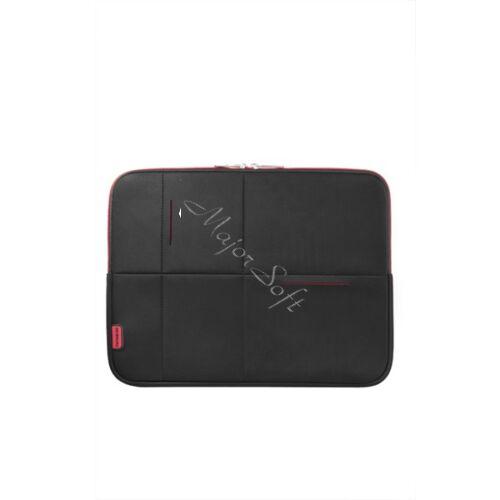 """SAMSONITE Notebook tok 46123-1073, LAPTOP SLEEVE 15.6"""" (BLACK/RED) -AIRGLOW SLEEVES"""