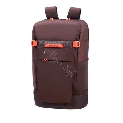 SAMSONITE Notebook hátizsák 116874-1019,LAPTOP BP L TRAVEL (AUBERGINE) -HEXA-PACKS