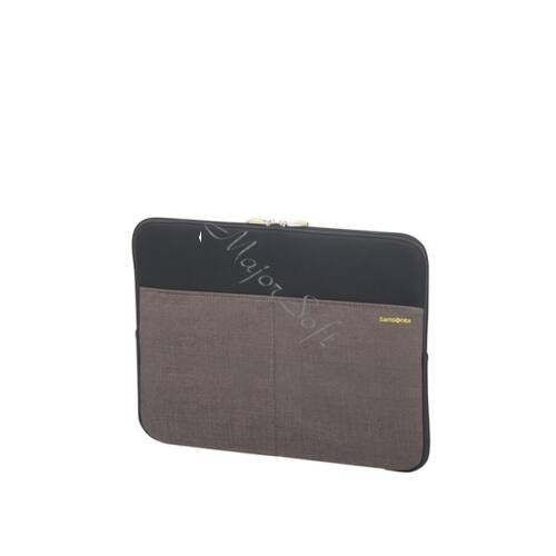"""SAMSONITE Notebook tok 115283-1062, LAPTOP SLEEVE 15.6"""" (BLACK/GREY) -COLORSHIELD"""