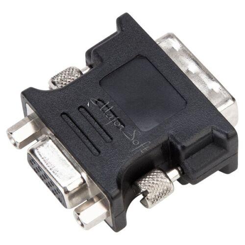 TARGUS Adapter ACX120EUX, DVI-I Male to VGA Female Adapter - Black