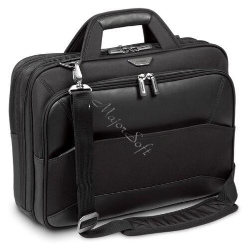 "TARGUS Notebook táska TBT916EU, Mobile VIP 12 12.5 13 13.3 14 15 & 15.6"" Large Topload Laptop Case - Black"