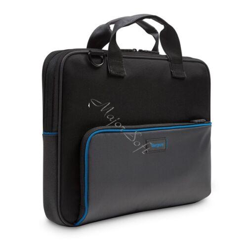 "TARGUS Notebook táska TED016GL, Education Dome Protection 13.3"" Topload Laptop Bag - Black/Grey"