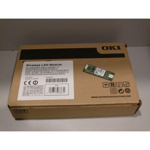OKI 45830202 Wireless LAN modul B412/ B432/ B512/ C332/ C532/ C542/ C612/ C712/ C823/ C824/ C833/ C843/ ES4132/ ES5112/ MC363/ MC563/ MC573/ MC853/ MC873/ MC883/ ES8453/ ES8473 WIFI